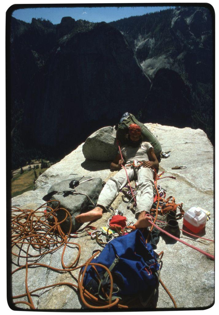 Klettern im Yosemite-Valley.