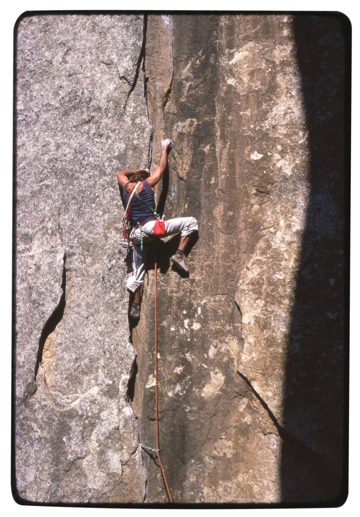 Klettern im Yosemite-Valley