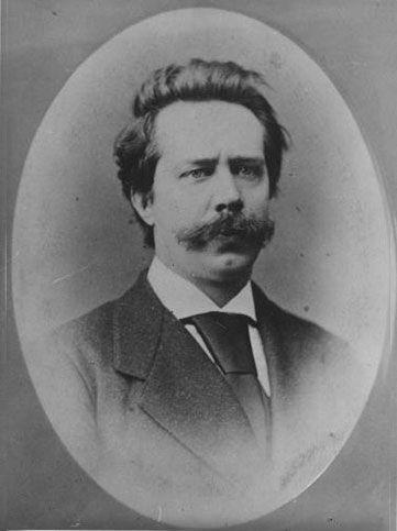 Alpenverein Gründer Paul Grohmann.