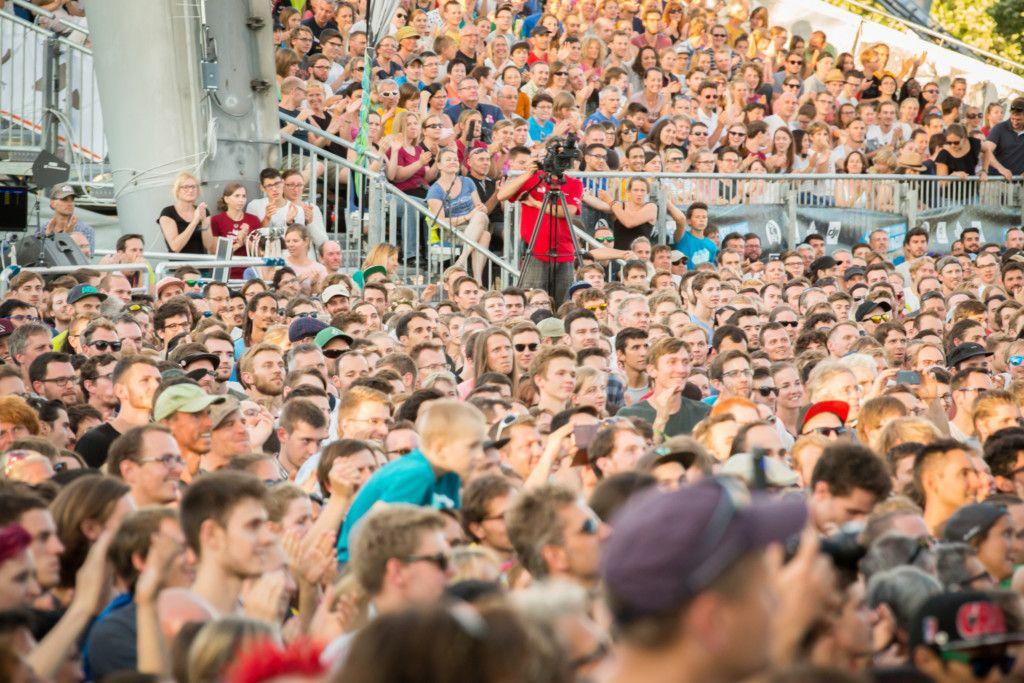 Mehr Zuschauer, mehr mediale Aufmerksamkeit, mehr Geld – das sind die Vorteile von Sportklettern bei Olympia. (Foto: DAV/Bernd Kremer)