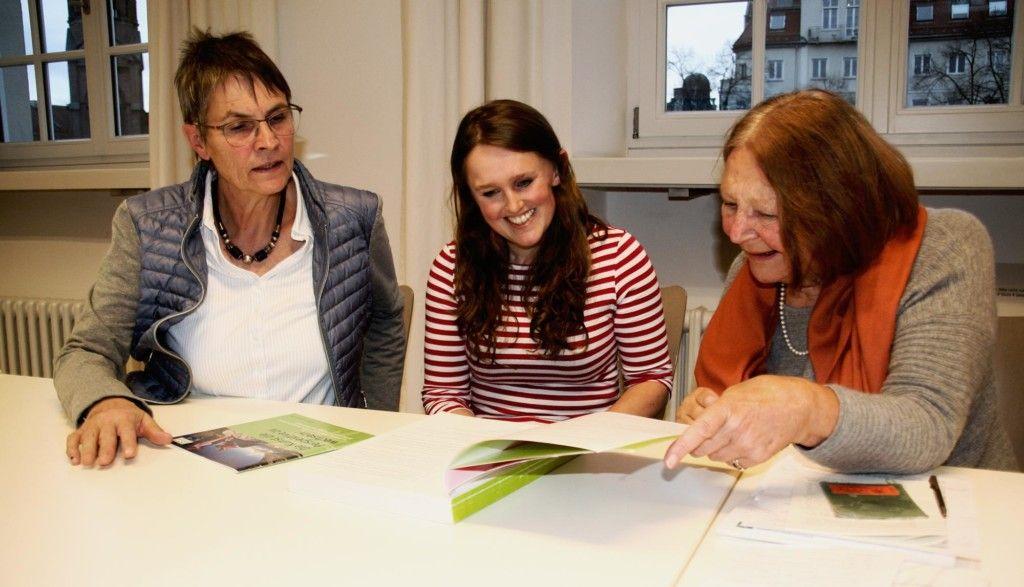 Ulrike Seifert, Sunnyi Mews, Lotte Pichler. (Foto: DAV/Christine Frühholz)
