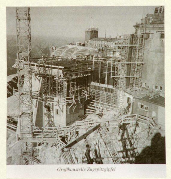 Baustelle-Zugspitzgipfel-1965-DAV-Archiv