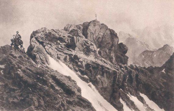 Ostgipfel-Zugspitze-1885-DAV-Archiv