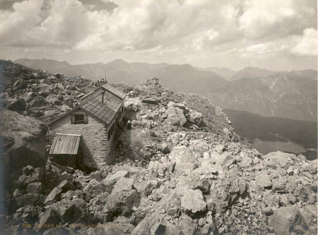 Wiener-Neustaedter-Huette-Eibsee-1900-DAV-Archiv