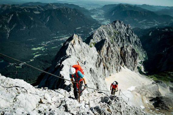 Zugspitze-Aufstieg-Hoellental-DAV-Hans-Herbig