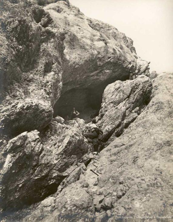 Zugspitze-Aufstieg-Stopselzieher-1900-DAV-Archiv