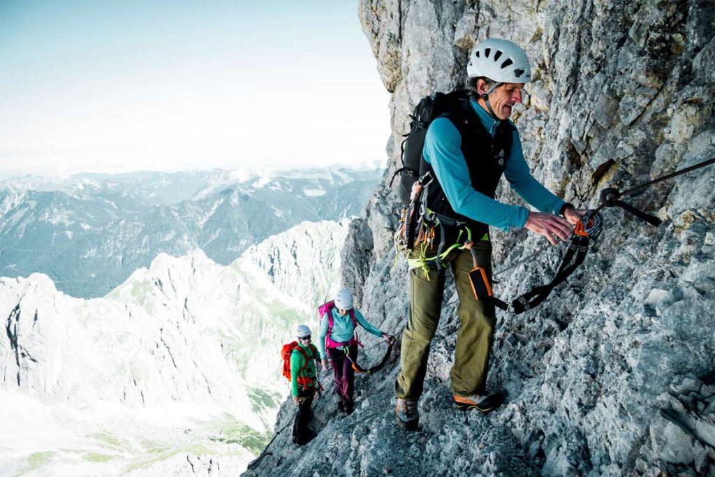 Zugspitze-Klettersteig-DAV-Hans-Herbig