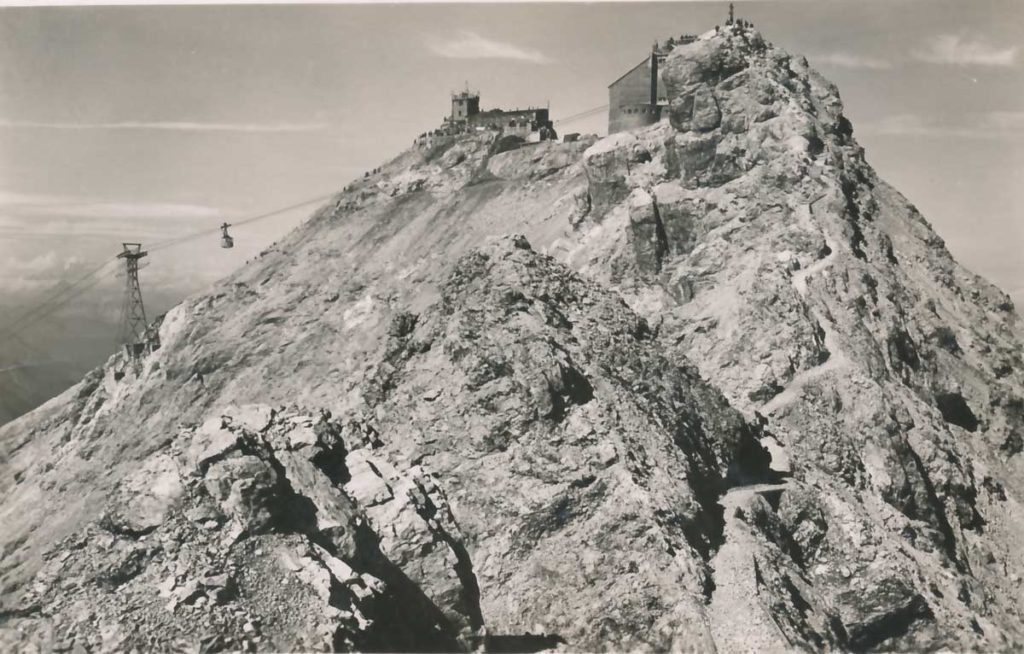 Zugspitzgipfelbahn-1930-DAV-Archiv